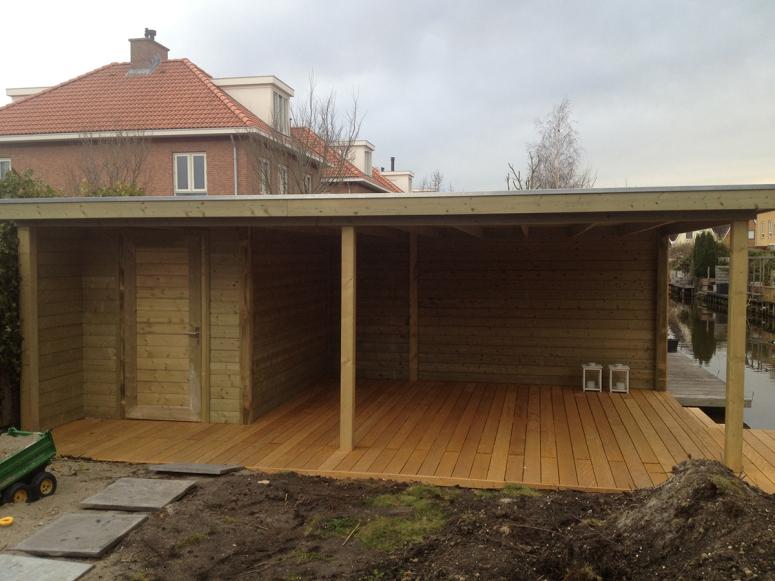 Tuinhuisjes Tuinhuisje veranda Martien van Zaal