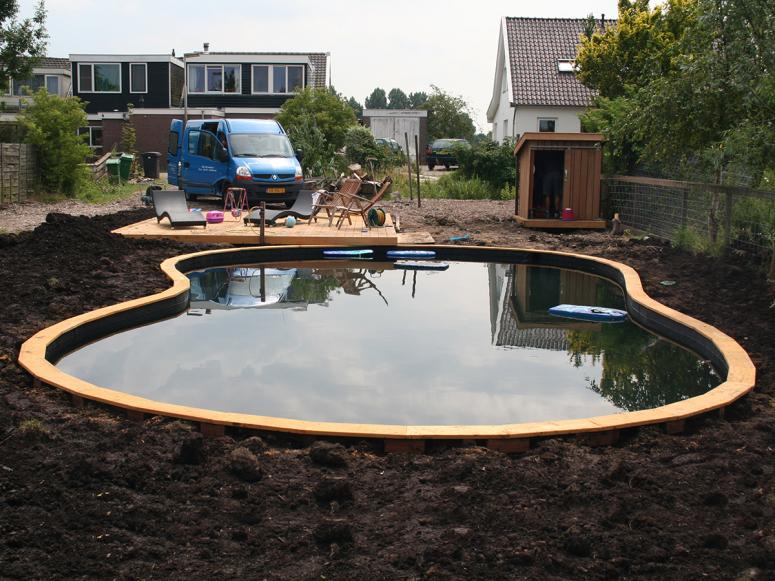 Vijvers zwemvijver Martien van Zaal