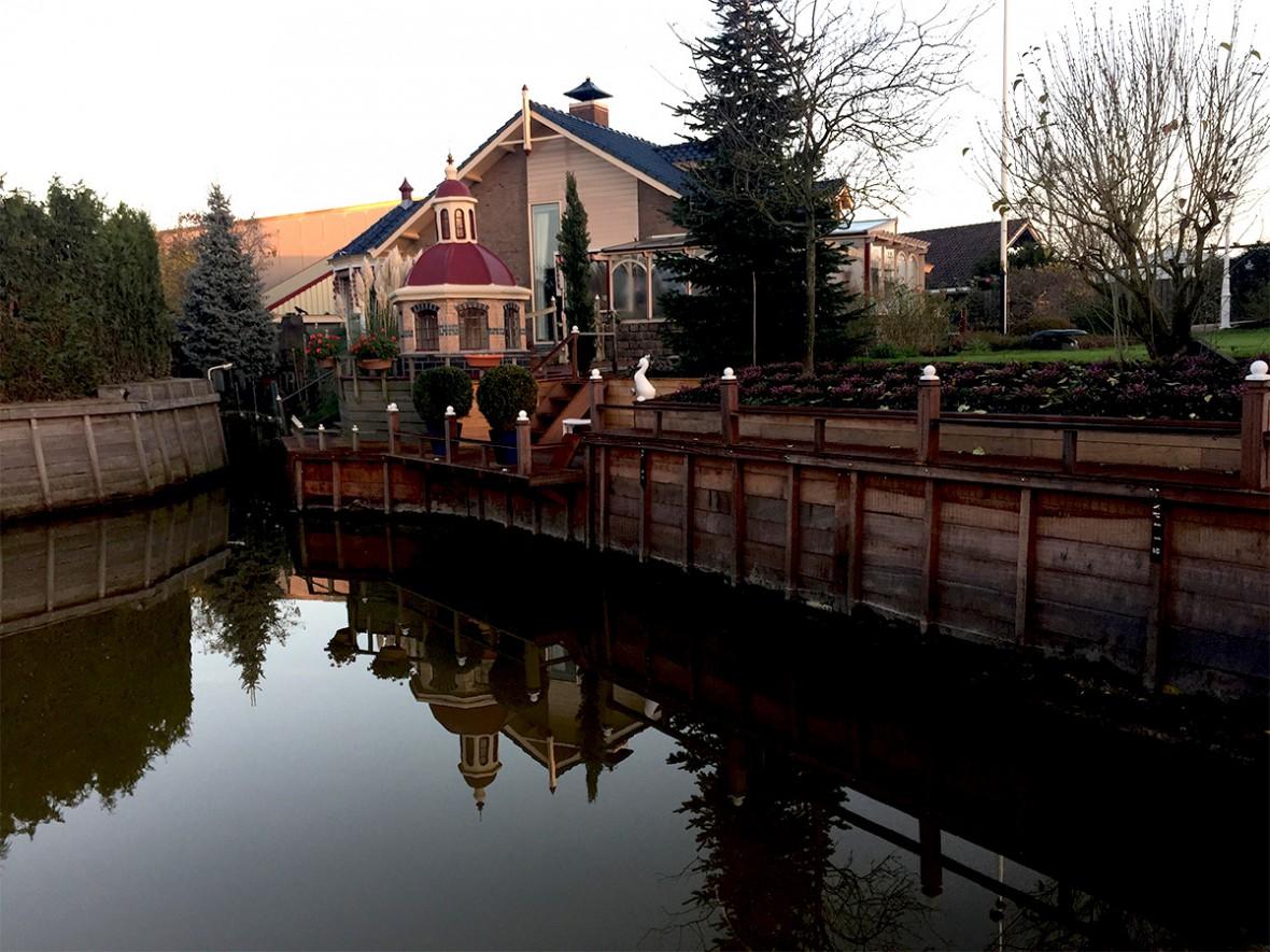 Loopsteiger beschoeiing Amstelveen, Martien van Zaal