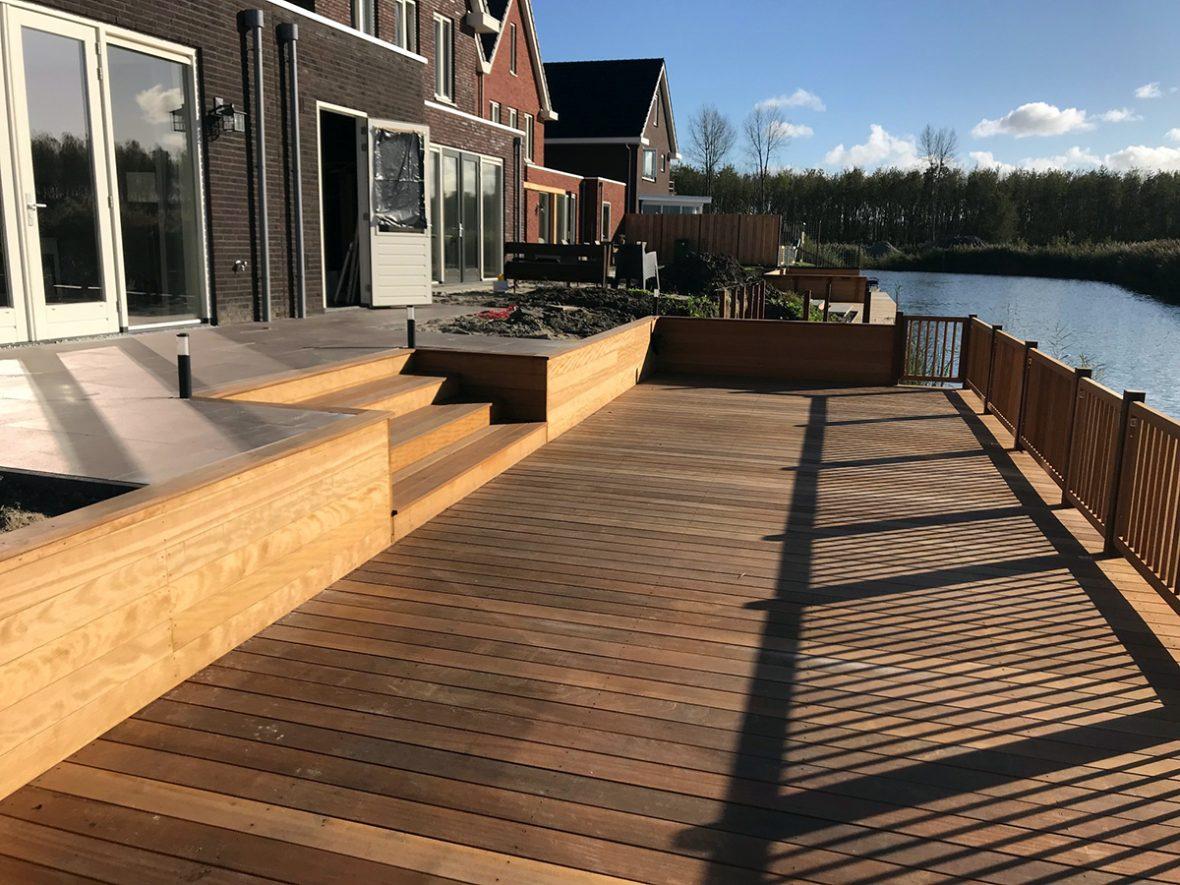 Project: Tuinaanleg Nobelhorst Almere | Martien van Zaal